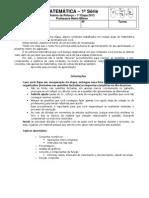 Matemática_1serie_roteiro de recuperação_1etapa_2013