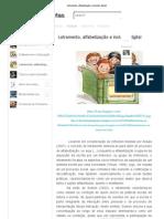 Letramento, alfabetização e inclusão digital
