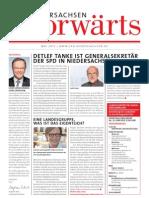 Niedersachsen-Vorwärts 05/2013