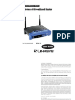 linksys wireless router manual