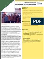 eNewsletter Sanitasi Total Berbasis Masyarakat STBM Agustus 2012