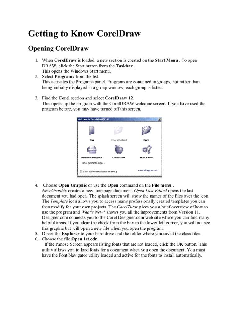 belajar coreldraw 12 human computer interaction software rh es scribd com