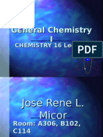 Introduction to Chemistry, Matter, Atomic theory, Nuclear Chemistry, The Periodic Table