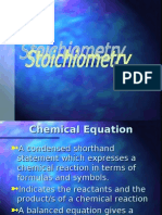 Stoichiometry, Chemical Reactions, Chemical Thermodynamics,  Chemical Kinetics