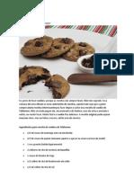 Cookies de Toblerone