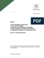 Relatório do Comité Europeu para a Prevenção da Tortura (24.04.2013)