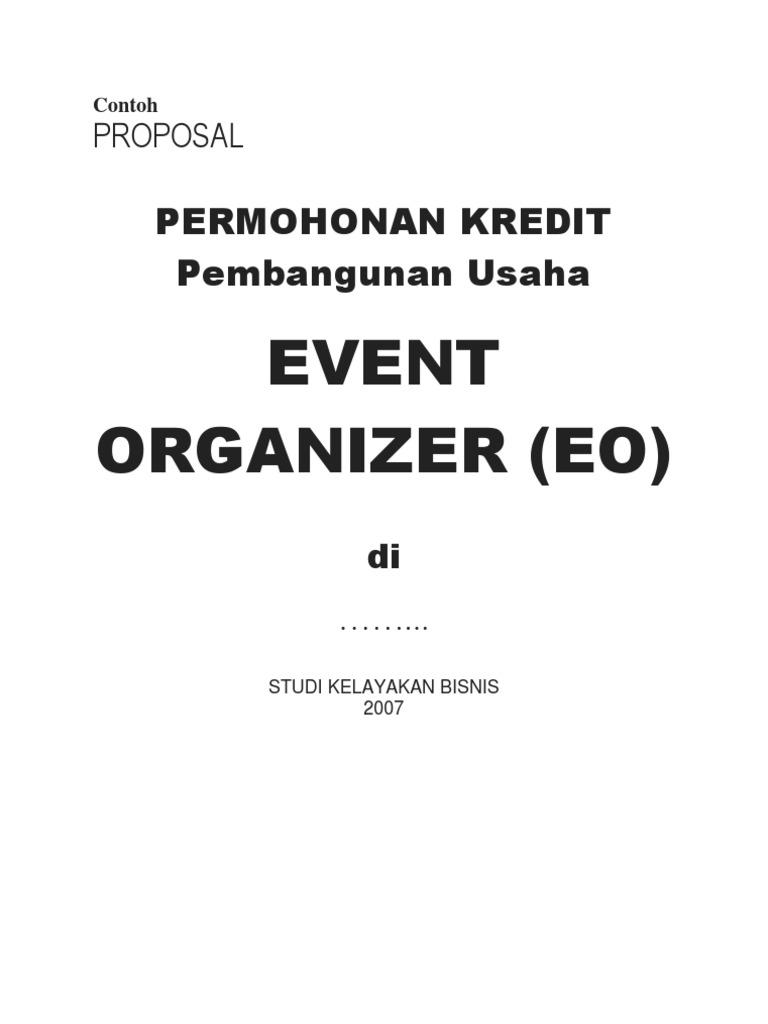 Contoh Laporan Laba Rugi Event Organizer