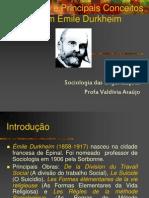 A Sociologia de Durkheim[1]