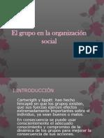 El grupo en la organización social