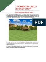Tutorial Para Fondos en Scketchup 2