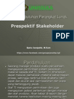3. Prespektif Stakeholder