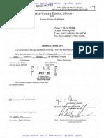 US v Adam Savader Criminal Complaint