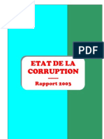Corruption Au Burkina Faso_chestionar