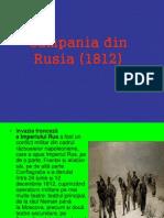 Campania Din Rusia (1812)