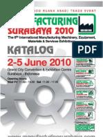 Catalog Manfacturing Surabaya 2010