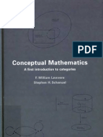 Conceptual Mathematics A first introduction  to category theory
