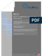 D2.2 Report on Stakeholder Communication Requirements (website version - no Annexes II, III, IV)