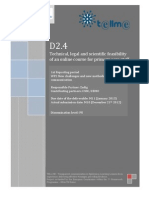 D2.4 Technical, Legal and Scientific Feasibility of an Online Course for Primary Care Staff