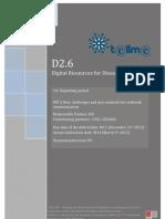 D2.6 Digital Resources for Disease Detection
