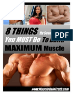 Quick Muscle Building Guide