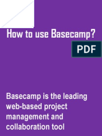 How to Use Basecamp? A sample tutorial