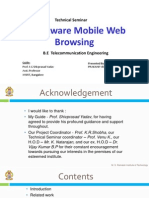 COST AWARE MOBILE WEB BROWSING