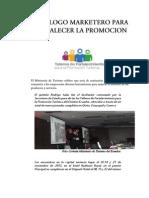 DECÁLOGO MARKETERO PARA FORTALECER LA PROMOCION