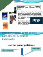 Economia de La Corrupcion.