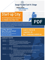 Start Up City Flyer