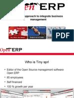 OpenERP - Economic Model