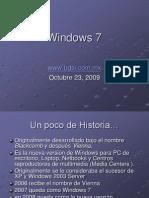 Windows 7 powerpoint