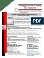 Workshop Balanced Scorecards, Hotel Harris Klp Gdg 15 Des 2012