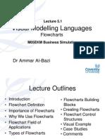 Lecture 5.1 Visual Modelling Languages - Flowcharts