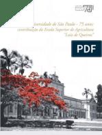 Universidade de São Paulo - 75 anos