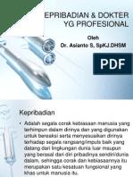 Kepribadian & Dokter Yg Profesional