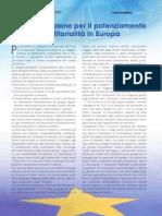 Potenziamento dell' imprenditorialità in Europa