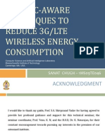 TRAFFIC-AWARE TECHNIQUES TO REDUCE 3G/LTE WIRELESS ENERGY CONSUMPTION