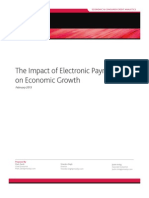 Impact of Electronic Payments on Economic Growth-MoodysAnalytics-Feb2013