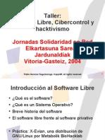 SoftwareLibreCibercontrolHacktivismo