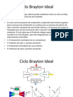 Ciclo Brayton Ideal