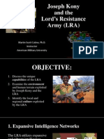 Joseph Kony and the LRA