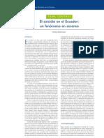 04. El suicidio en el Ecuador…  Andrea Betancourt