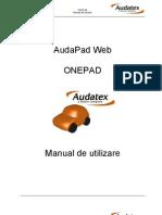 AudaPad-OnePad Manual de Utilizare