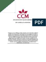 Estatutos Caja Castilla La Mancha