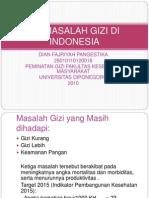 PPG (Masalah Gizi Di Indonesia)