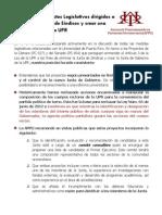 APPU Ante Proyectos Cambios Junta Sindicos UPR