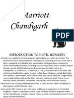 Project Report on Jw Marriott