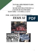 DOCUMENTO AGRUPACIÓN TESIS XI