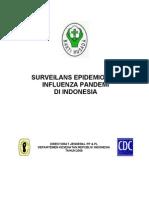 Surveilans Epidemiologi Influenza Pandemi Di Indonesia