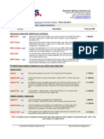 EMS Pricelist2010[1]
